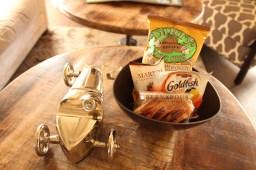 Complimentary in room snacks @ Bernardus Lodge - Staycation - Sunscreenandplanes.com -