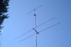 CCW HF Active Loop Antenna on Mast