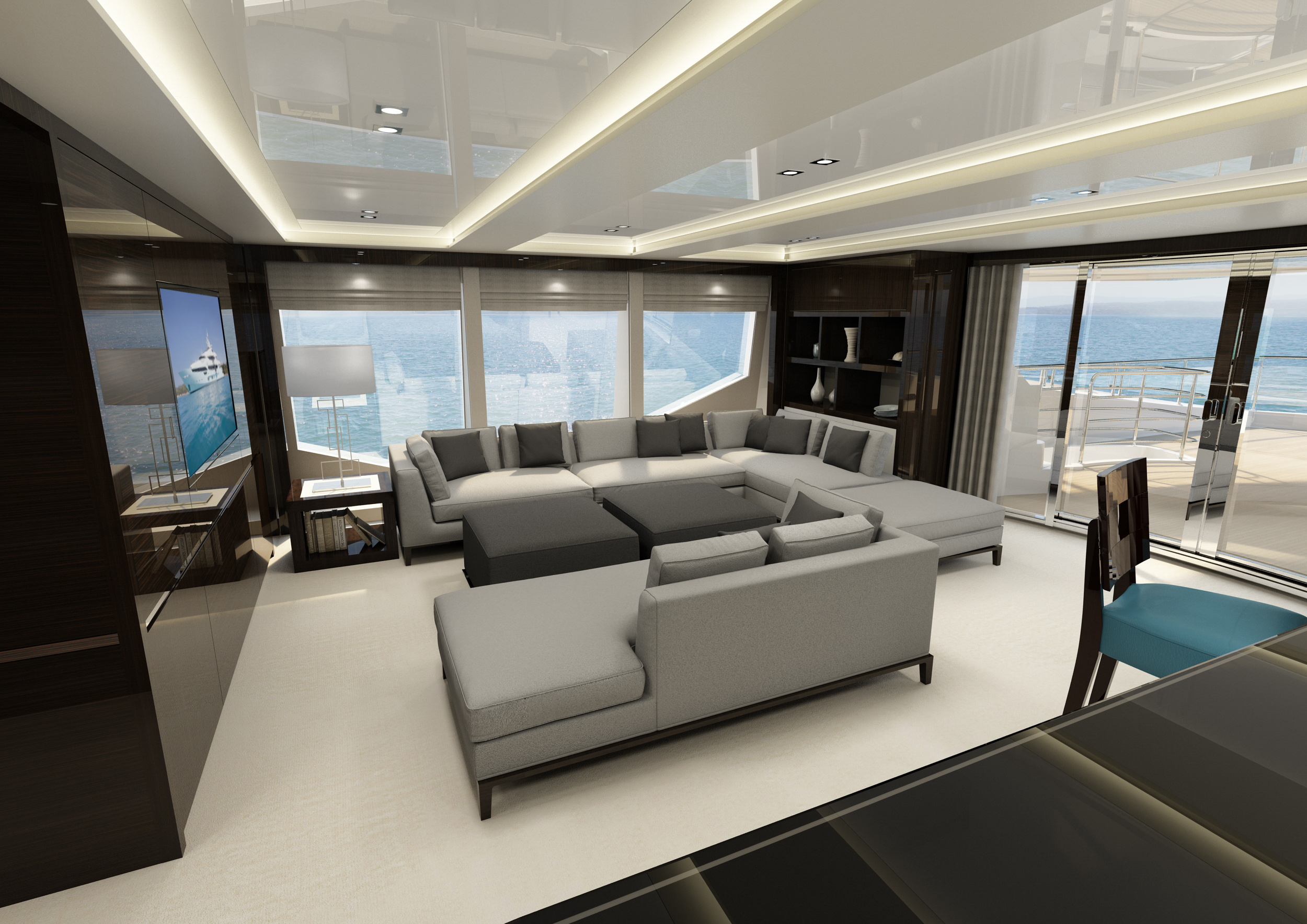Exclusive Images Of New Sunseeker 131 Yacht Revealed
