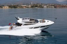 Powerful and sleek, the Sunseeker 57 Predator