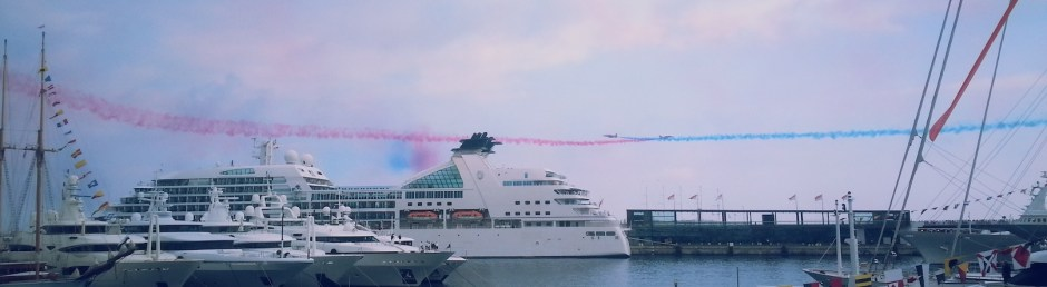 Red Arrows soar onto Sunseeker stand at Monaco Yacht Show