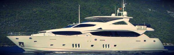 """Sunseeker 34 Metre Yacht """"FRIVOLOUS"""" listed with Sunseeker London"""
