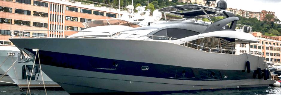 """It's a wrap! Sunseeker 28 Metre Yacht """"MERRICK"""" transformed by Sunseeker Monaco and Wild Group International"""