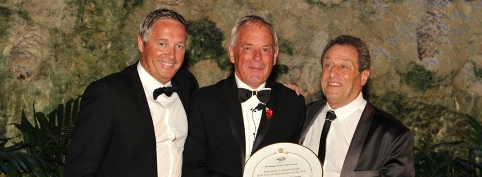 Success for award-winning Sunseeker London Group at 2013 Sunseeker International Distributor Conference