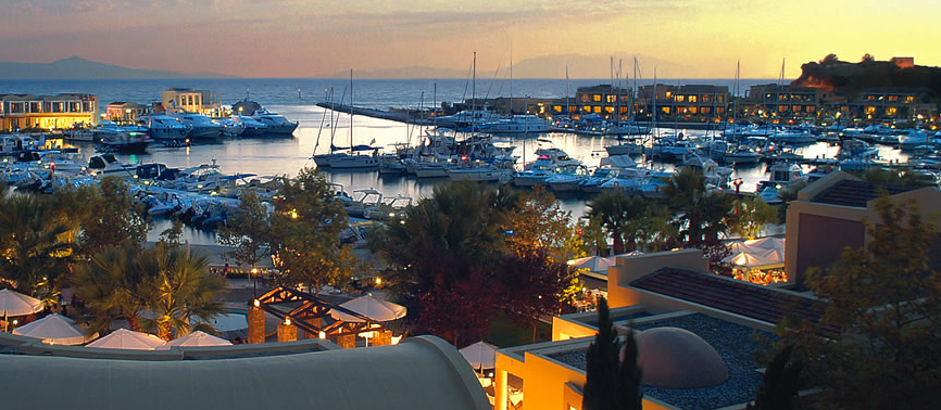 Sunseeker Hellas secure exclusive annual mooring offer for clients at Sani Marina in 2014