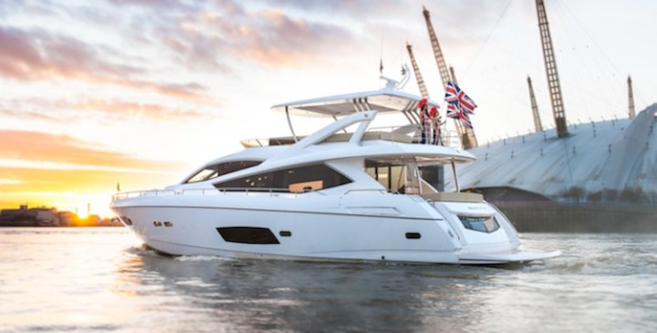 Confirmed line-up for Sunseeker display at London Boat Show 2014