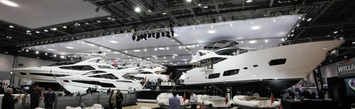 Sunseeker London Group generates £25 million of sales at London Boat Show