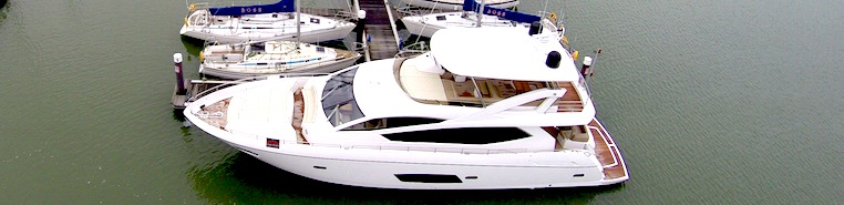 Sunseeker Southampton appointed central agents for Solent berth