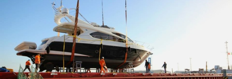 """Dealer Approved Manhattan 63 """"MAKO OF LONDON"""" UK bound with Sunseeker Cheshire"""