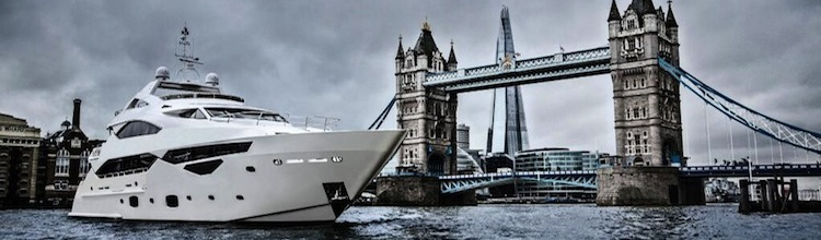 """Sunseeker 40 Metre Yacht """"4T"""" available for immediate delivery with Sunseeker London"""