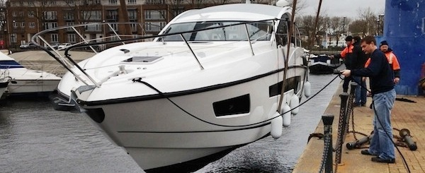 Valentines completion for Portofino 40 with Sunseeker Torquay