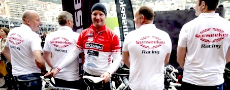 Champagne and cyclists: Sunseeker Monaco launch prize draw for St Tropez-Monaco bike ride