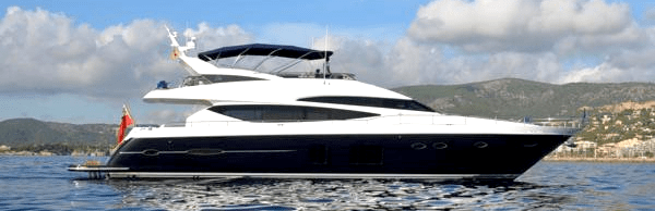 "Sunseeker Southampton and Sunseeker Mallorca complete sale of Princess 78 ""AMATRIX"""