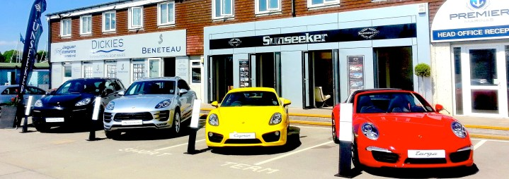 Sunseeker, Sunshine and Swanwick: Visit the British Motor Yacht Show this weekend!