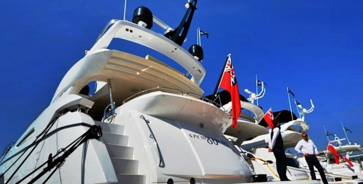 Round-up: British Motor Yacht Show with Sunseeker, Princess and Fairline