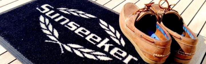 Best foot forward: Sunseeker Torquay test the latest Chatham deck shoes