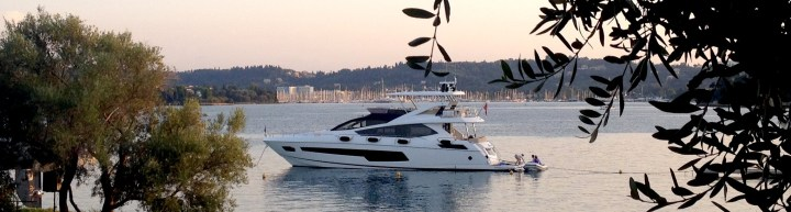"""""""Sunset in Corfu"""" 75 Yacht event a great success for Sunseeker Hellas"""