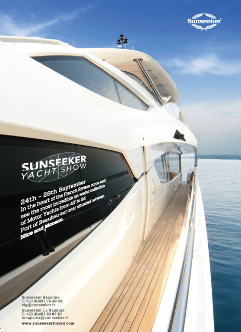 Sunseeker Yacht Show: September 24th to 28th, Beaulieu