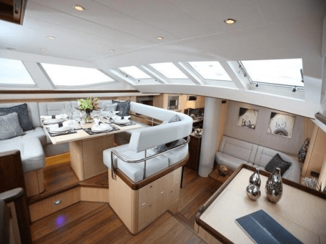 "Elegantly designed, the Oyster 82 ""RAVEN"" is a stunning sailing yacht and exceptional brokerage opportunity"