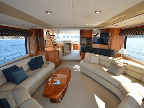 Generous interior volume is complimented by exceptional outdoor areas which maximise the yacht's use of space