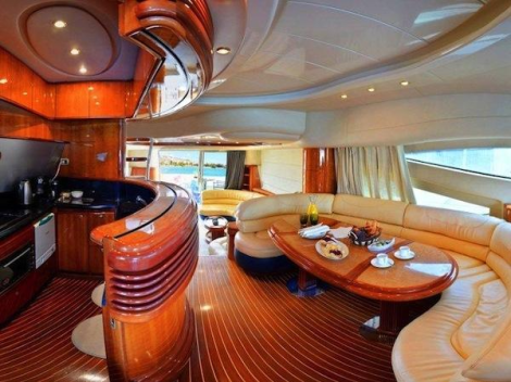 Offering an expansive Saloon area, the open Galley and Upper Seating area is a social space for family and friends