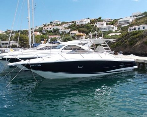 Lying in Menorca and asking £165,000 VAT paid, this Sunseeker Sportfisher 37 is competitively priced