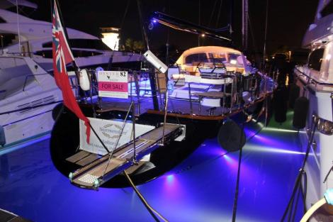 "The Oyster 82 ""RAVEN"" was the star of the show for Sunseeker Mallorca"