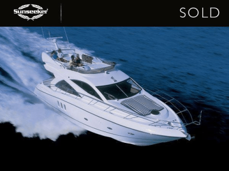 """Sunseeker Cheshire and Sunseeker Monaco combined for the sale of the Manhattan 50 """"SARAH'S oF MONACO"""""""