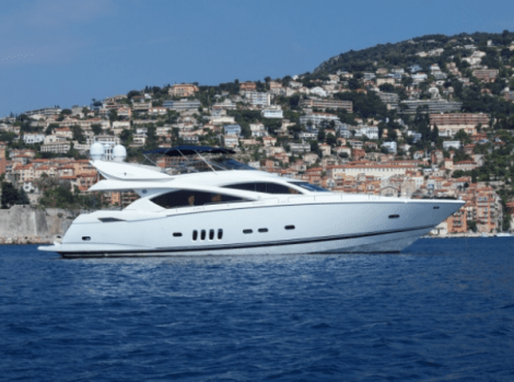"""Sunseeker Poole worked with Moore International to secure the sale of the Sunseeker 82 Yacht """"ALCATRES"""""""