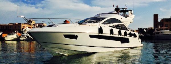 """Sunseeker Egypt handover new Sunseeker 68 Sport Yacht """"FAFY"""""""