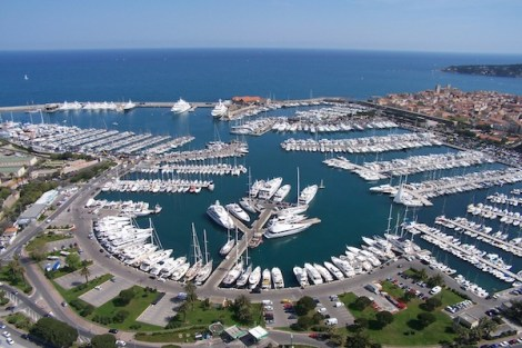 Port Vauban is a great berthing location in the South of France, in the popular town  of Antibes