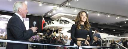 International superstar Nicole Scherzinger launches new Sunseeker Predator 57 at London Boat Show