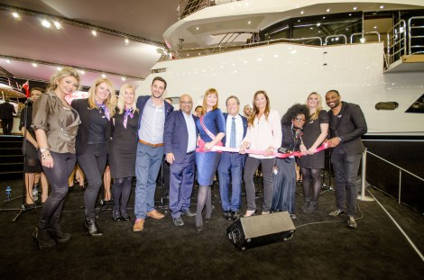 "Supported by Peters & May, which recently launched a ""Pink Lashings Initiative"" to make donations through shipping, PAH Breast Cancer Clinical Trials have so far raised nearly £25,000 at the London Boat Show"