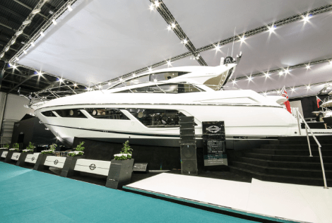 Making its World Debut at the London Boat Show, the new Predator 57 proved highly popular, with an impressive number of orders secured by the Sunseeker London Group