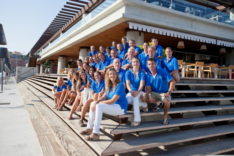 Sunseeker Mallorca prides itself upon teamwork