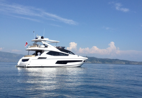 The 75 Yacht will feature as part of the display at the Sunseeker Pre-Season Boat Show in Poole