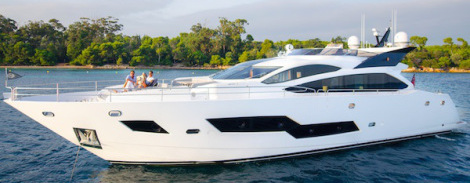 """Sunseeker France appointed Central Agents for Sunseeker 101 Sport Yacht """"SANDY"""""""