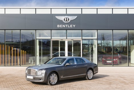 Sunseeker Cheshire clients attended a test drive day and factory tour of Bentley Motors