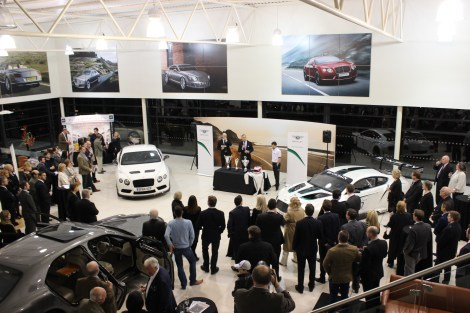 Sunseeker Cheshire attends Bridgfords Prestige Living Magazine Launch at Bentley Manchester