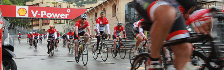 Sunseeker supports St Tropez to Monaco cycle for Princess Charlene Foundation