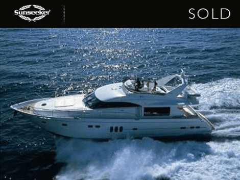 """Sunseeker Monaco have sold the Princess 23M """"ISABEL"""""""
