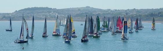 Sunseeker Torquay enjoys La Solitare du Figaro yacht race