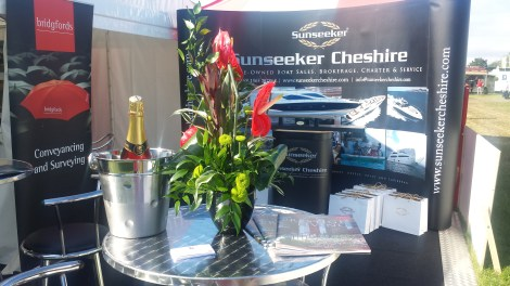 Sunseeker Cheshire exhibits at Cheshire County Show 2015