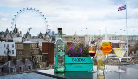 DRINK: The Bloom Gin Rooftop Bar at Vista, Trafalgar Square, London, SW1A 2TS