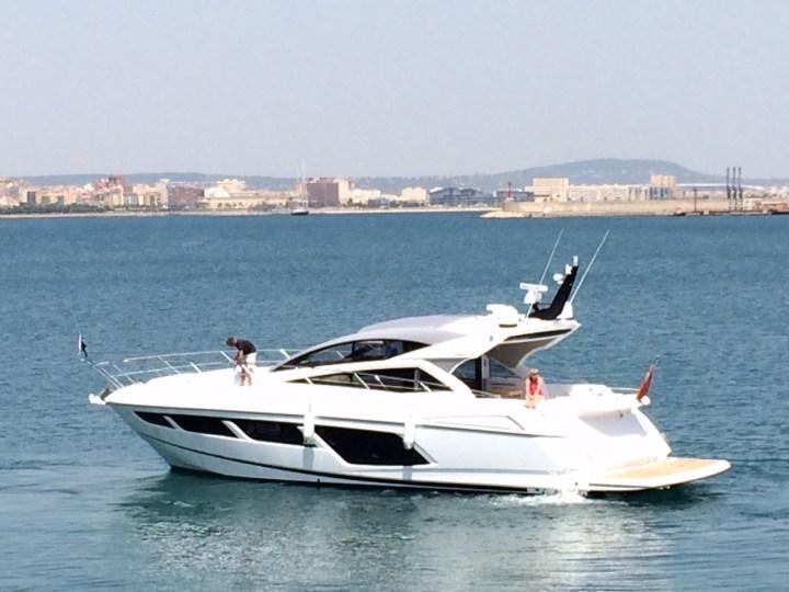 Sunseeker Mallorca complete sale and handover of NEW Predator 57 'LA RUBIA'