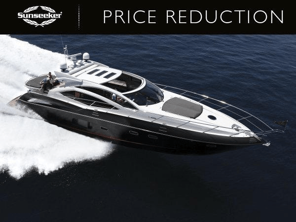 """SIGNIFICANT PRICE REDUCTION ON SUNSEEKER PREDATOR 64 """"KASIA II"""""""