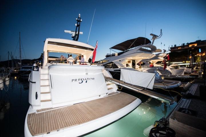 #SunseekerSummer Nights: Launching 3 Sunseeker motor yachts into France