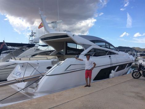 The Sunseeker 57 Predator was beautifully presented in the best located berth of Marina Botafoch