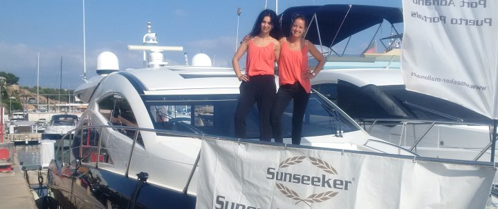 Sunseeker Mallorca promote Sunseeker Predator 52 during the Bank Holiday weekend in Puerto Portals, Mallorca.