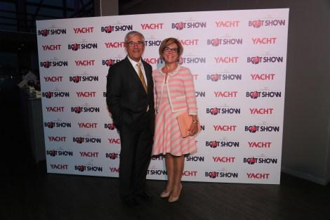 Ozer Akarslan with wife